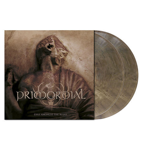 Primordial - Exile Amongst The Ruins Gray-Brown Clear Marbled Vinyl 2LP