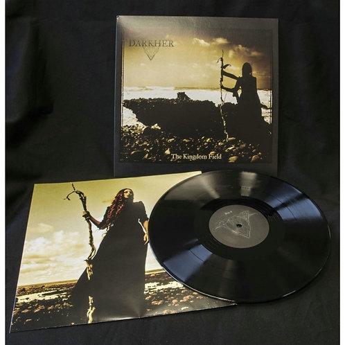 Darkher - The Kingdom Field Black Vinyl LP