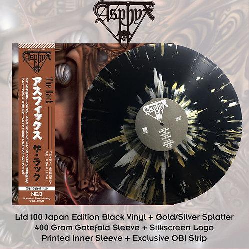 Asphyx - The Rack Black Vinyl + Gold/Silver Splatter