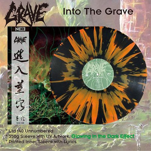 Grave - Into The Grave Black Vinyl + Orange Splatter