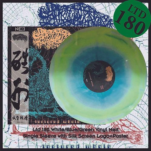 Sanguisugabogg - Tortured Whole Ltd 180 White/Green/Blue Vinyl Melt