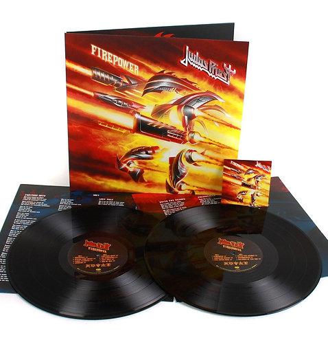 Judas Priest - Firepower Black Vinyl 2LP