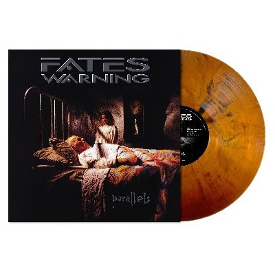 Fates Warning - Parallels Clear Light Salmon Vinyl LP