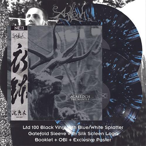 Agalloch - The Mantle Ltd 100 Black Vinyl + Blue/White Splatter 2LP