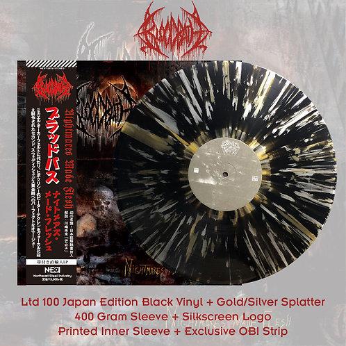 Bloodbath - Nightmares Made Flesh Black Vinyl + Gold/Silver Splatter