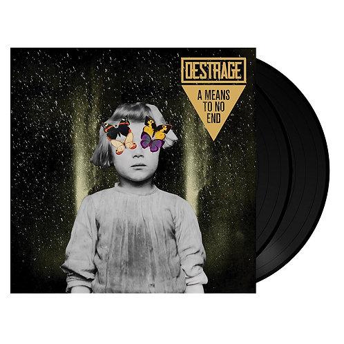 Destrage - A Means To No End Black Vinyl 2LP
