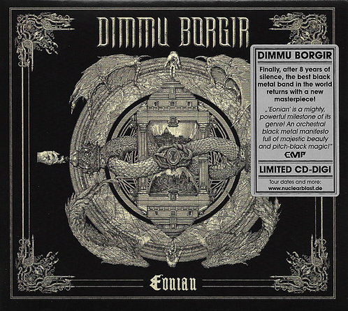 Dimmu Borgir - Eonian Digipak CD Digipak