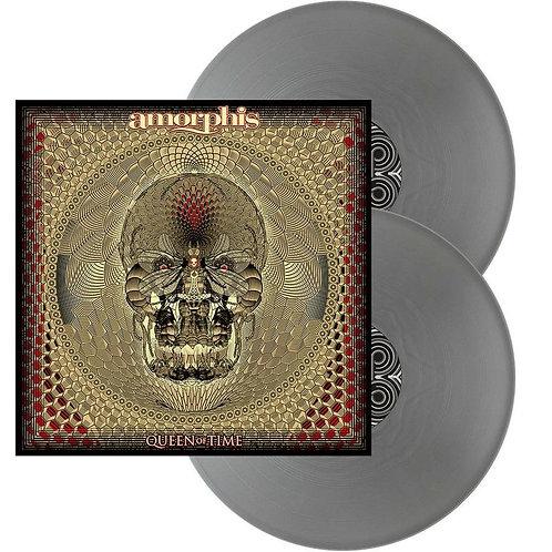 Amorphis - Queen Of Time Silver Vinyl 2LP