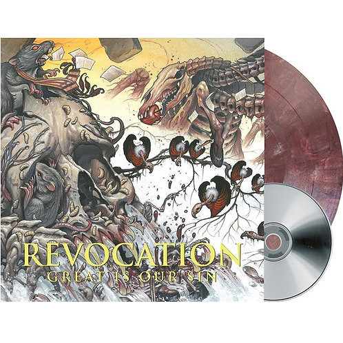 Revocation - Great Is Our Sin Aubergine Color Vinyl LP