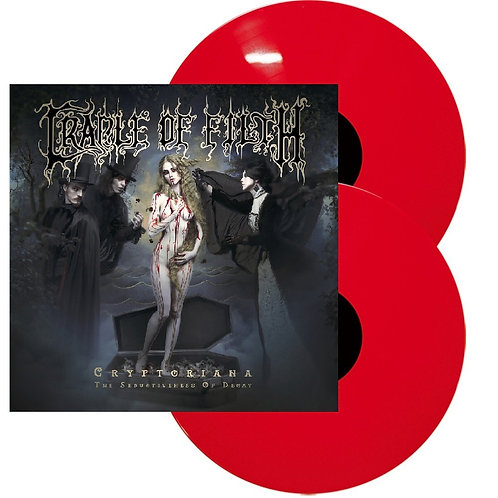 Cradle Of Filth - Cryptoriana - The Seductiveness Of Decay Red Vinyl 2LP