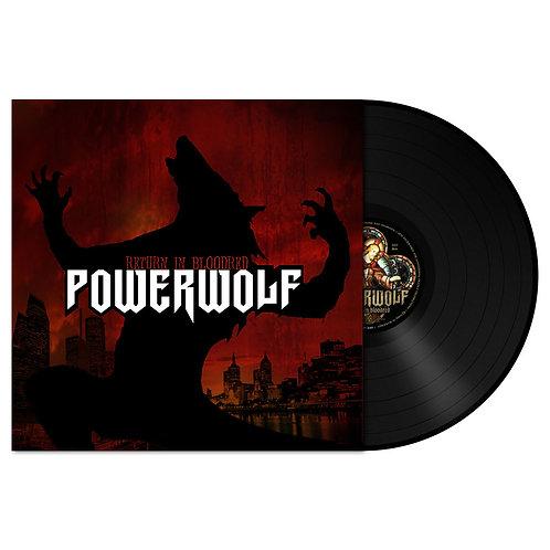 Powerwolf - Return In Bloodred Black Vinyl LP