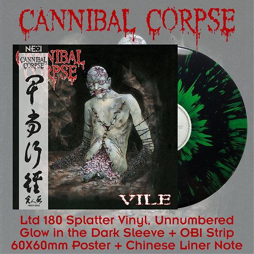 Cannibal Corpse - Vile Black Vinyl + Green Splatter