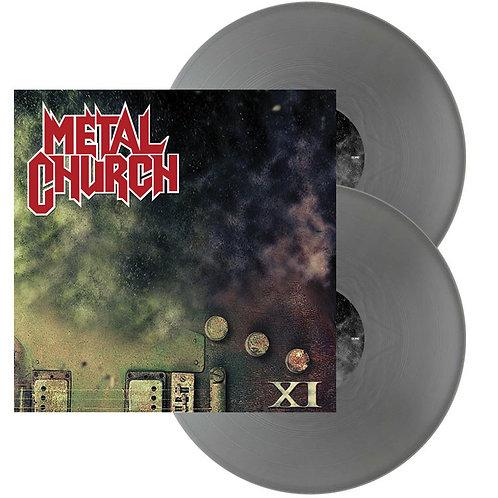 Metal Church - XI Silver Vinyl 2LP