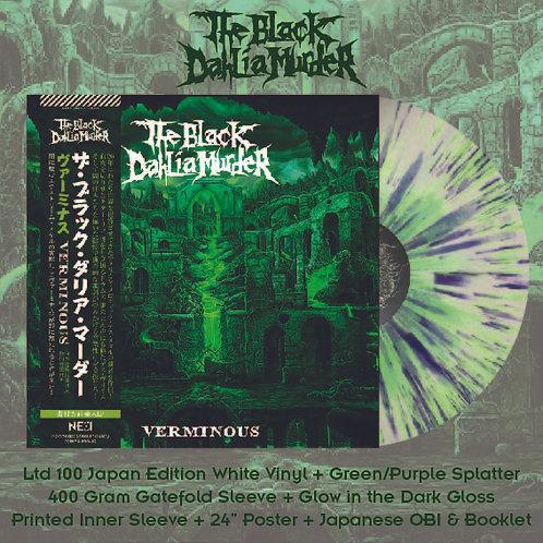 The Black Dahlia Murder - Versminous White Vinyl+Green/Purple Splatter Ltd 100 J