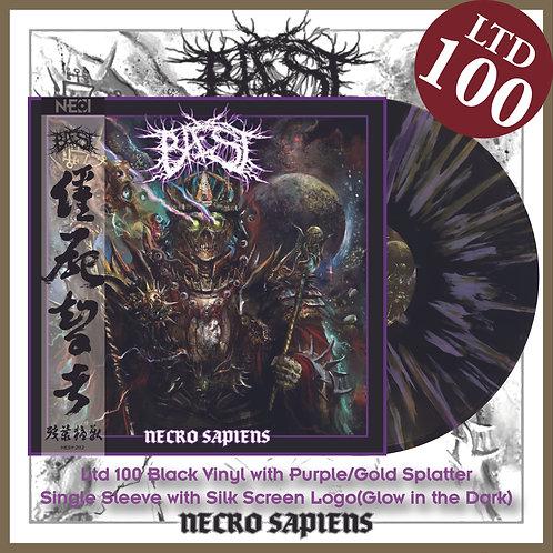 Bæst - Necro Sapiens Ltd 100 Black Vinyl+Purple/Gold Splatter