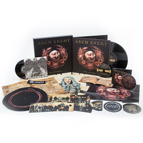 Arch Enemy - Will To Power Red Vinyl LP BOX