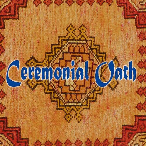 Ceremonial Oath - Carpet  Black Vinyl LP