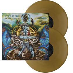 Sepultura - Machine Messiah Golden Vinyl 2LP