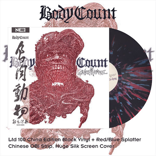Body Count - Carnivore Black Vinyl with Red+Black Splatter, Ltd 100