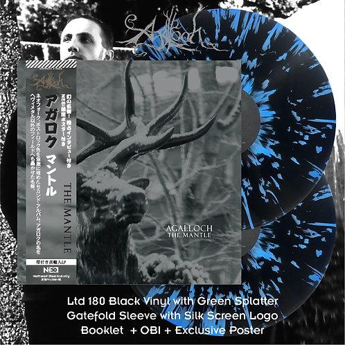 Agalloch - The Mantle Ltd Black Vinyl + Blue Splatter 2LP