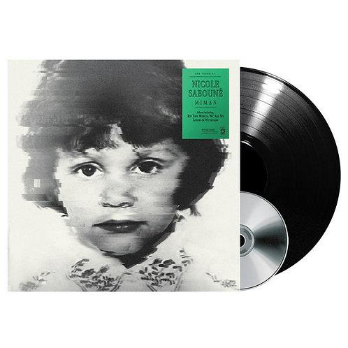 Nicole Saboune - Miman Black Vinyl LP