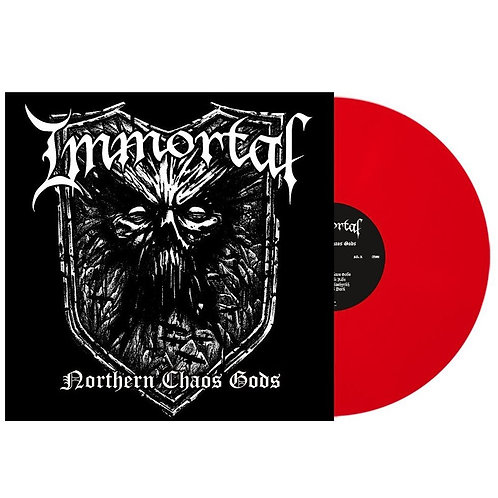 Immortal - Northern Chaos Gods Red Vinyl LP