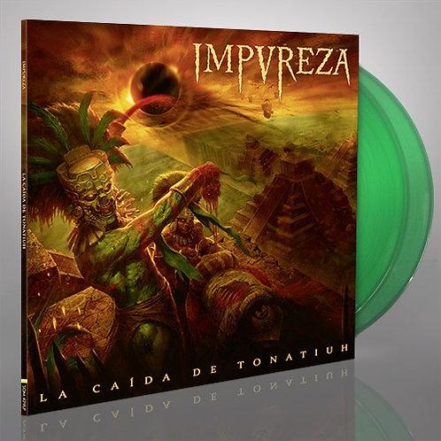 Impureza - La Caida De Tonatiuh Green Vinyl 2LP