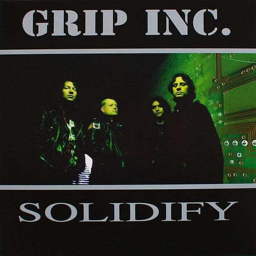 Grip Inc. - Solidify Green Splatter Vinyl LP