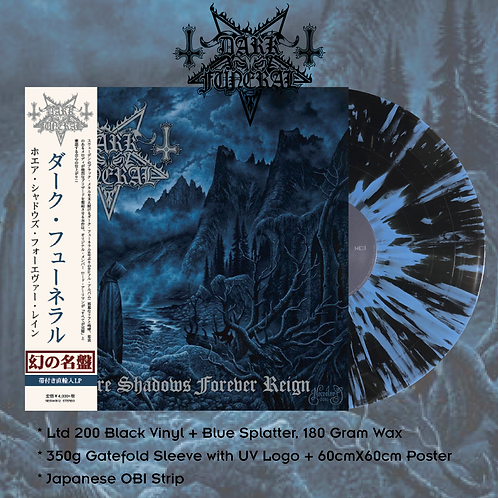 Dark Funeral – Where Shadows Forever Reign Japan Version Ltd 200