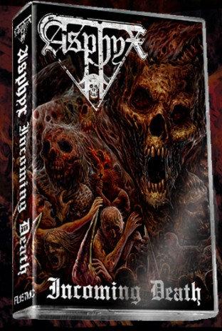 Asphyx - Incoming Death Cassette Ltd 500