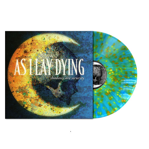 As I Lay Dying - Shadows Are Security Splatter Vinyl LP