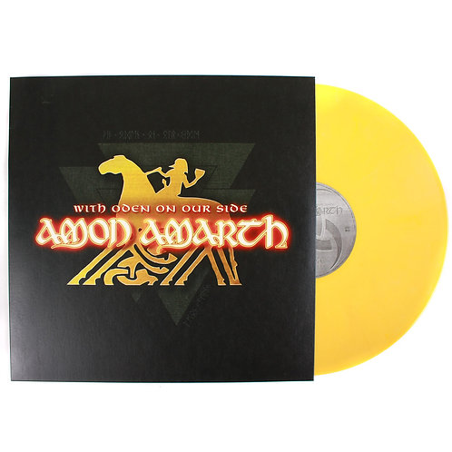 Amon Amarth - With Oden On Our Side Yellow Marble Vinyl LP