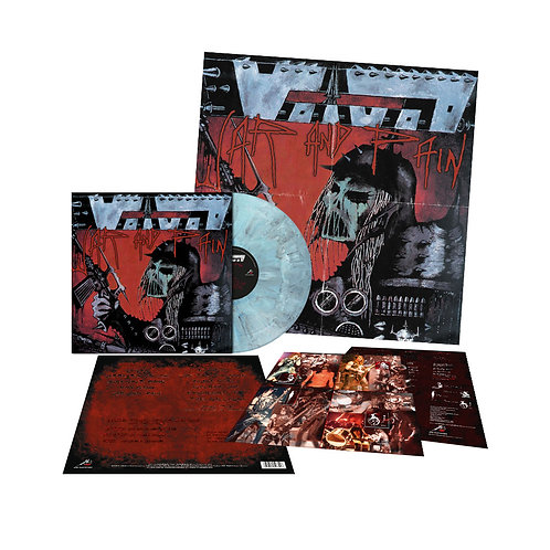 Voïvod - War And Pain Blue Steel with Grey Marble Vinyl LP