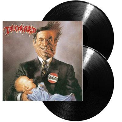 Tankard - Two-Faced Black Vinyl 2LP