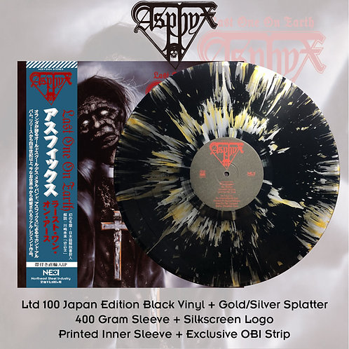 Asphyx - Last One On Earth Black Vinyl + Gold/Silver Splatter