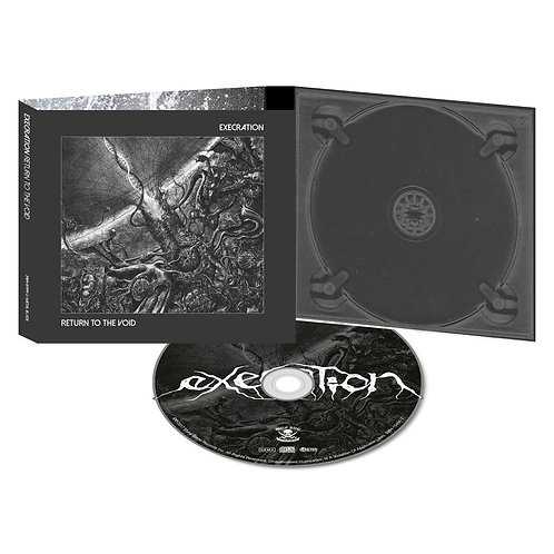 Execration - Return To The Void CD Digipak