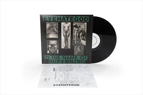 Eyehategod - In the Name of Suffering Black Vinyl LP