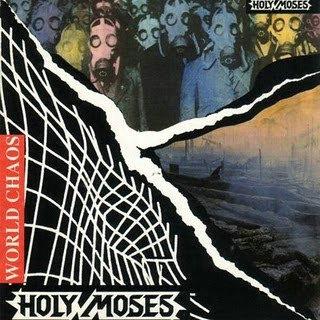 Holy Moses - World Chaos CD