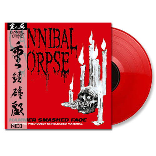 Cannibal Corpse - Hammer Smashed Face Red Vinyl Ltd 200