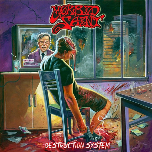 Morbid Saint - Destruction System Black Vinyl LP
