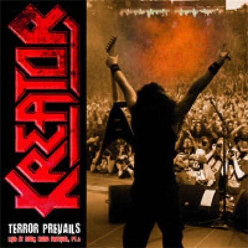 Kreator - Terror Prevails Live At Rock Hard Festival, Pt. 2 Red Vinyl LP