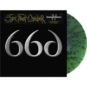 Six Feet Under - Graveyard Classics XIV Green Splatter Vinyl LP