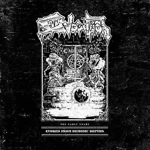 Evocation - Evoked From Demonic Depths Red &White Vinyl 2LP