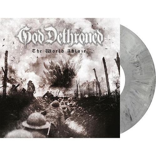 God Dethroned - The World Ablaze Grey Marble Vinyl LP