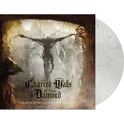 Charred Walls Of The Damned - Creatures Watching White Smoke Marble Vinyl LP