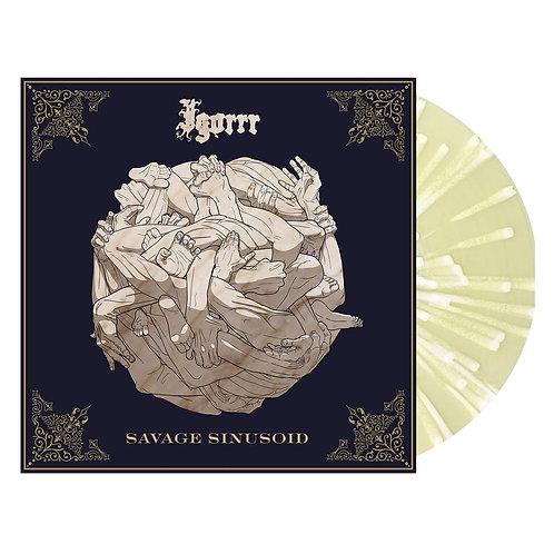 Igorrr - Savage Sinusoid Cream/White Splatter Vinyl LP