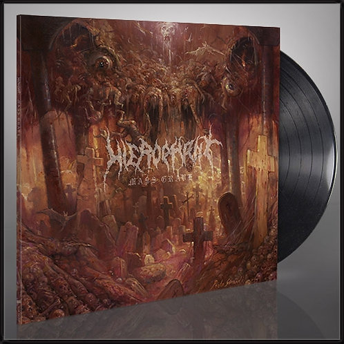 Hierophant - Mass Grave Black Vinyl LP
