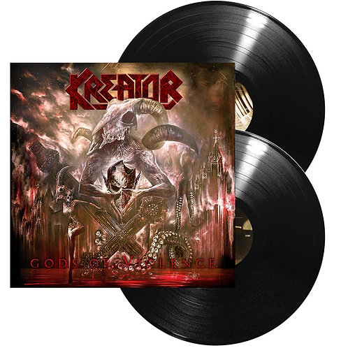 Kreator - Gods Of Violence Black Vinyl 2LP