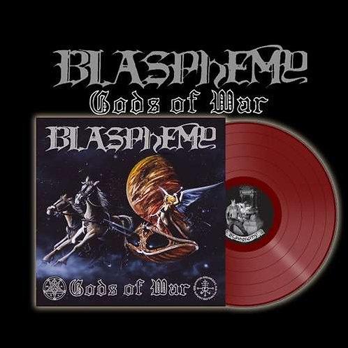 Blasphemy - Gods Of War & Blood Upon The Altar Red Vinyl LP