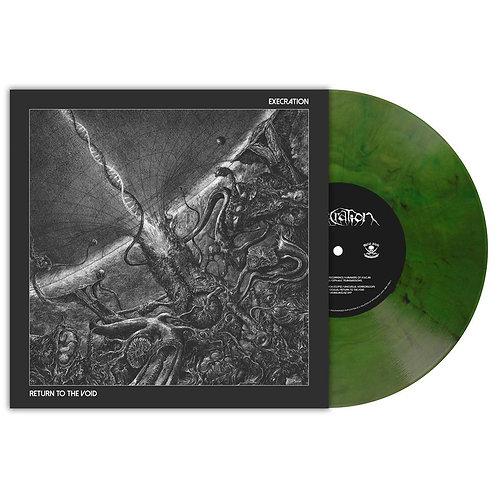 Execration - Return To The Void Green Marble Vinyl LP